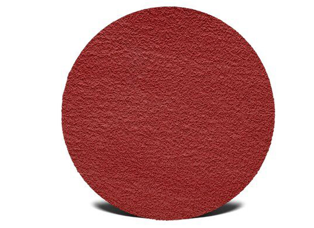 There are a range of abrasive disc pads available for the Model 20. Please call the factory for a list of grits available.