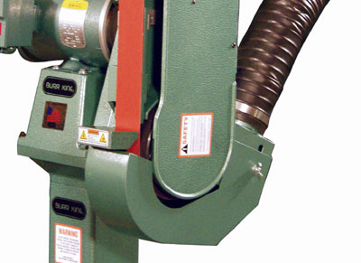 Model 960-250 shown with Optional Full Wrap Dust Scoop