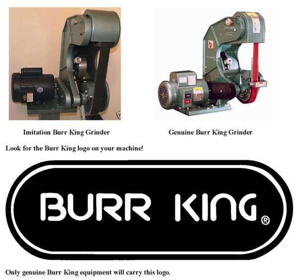 imitation burr king grinders