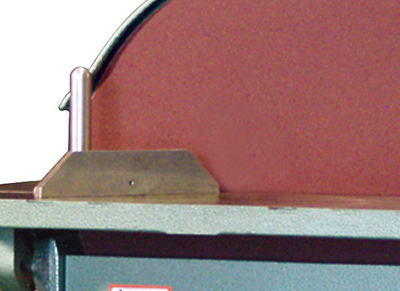 Model 20 shown with optional Miter attachment