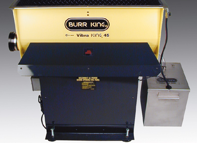 Vibra KING 45 shown with Filter PAK 4000 (Filter PAK 4001 replaces filter PAK 4000)
