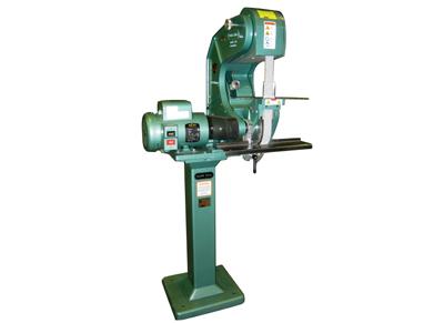 mower blade sharpening machine