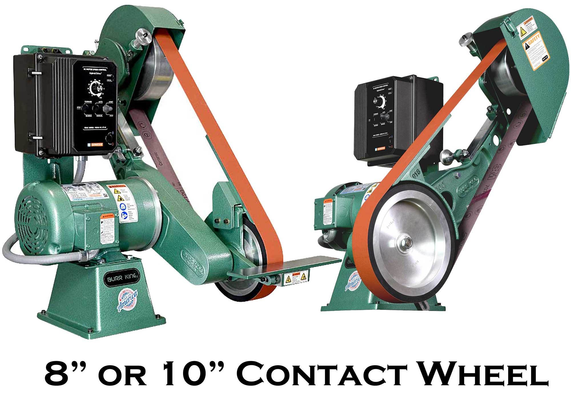960-272 with 8` or 10` Contact Wheel - Fixed or Variable Speed Available