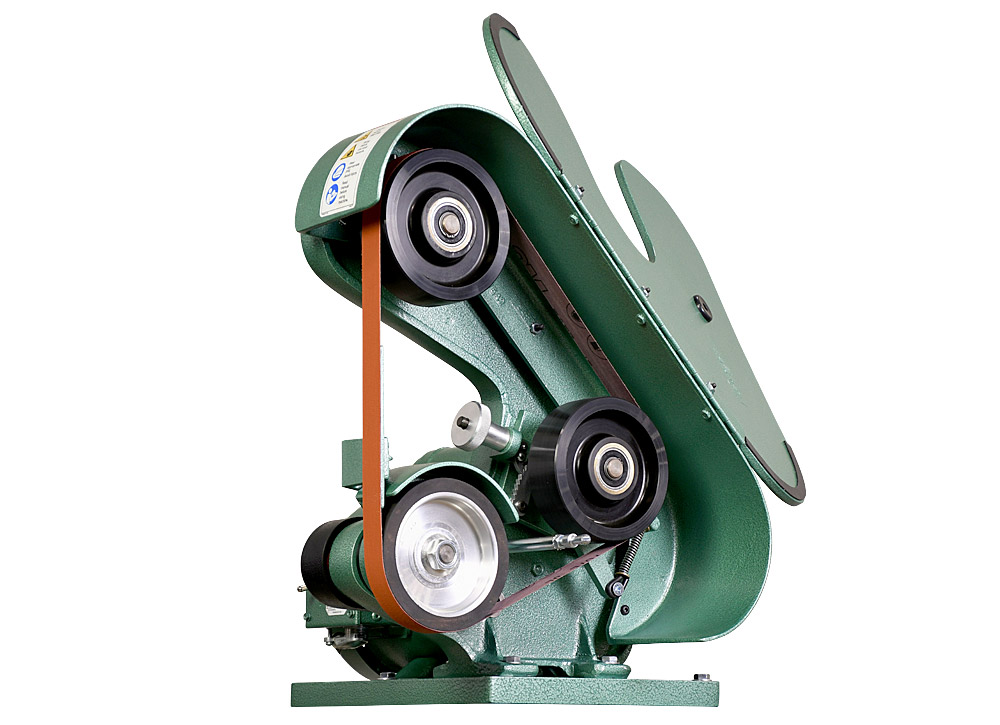 56100 Model 562 Belt Grinder / Sander comes with durable urethane covered idler wheels for years of trouble free performance.