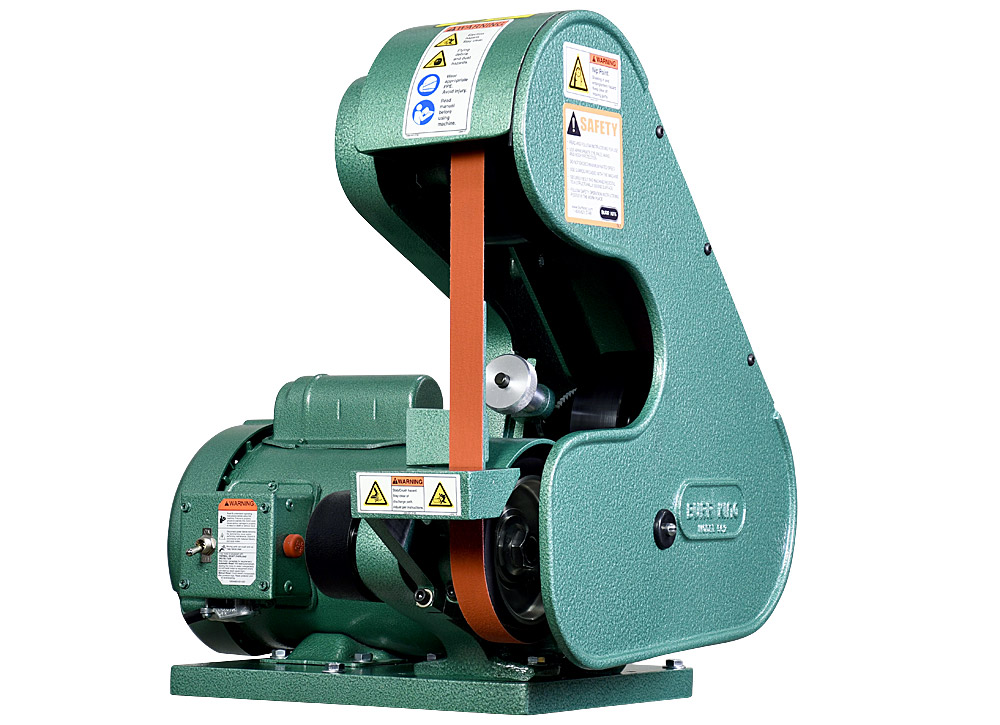56200 Model 562 Belt Grinder / Sander features a 1` x 42` belt and a 3/4 HP motor.  All Model 562s come with an adjustable workrest.
