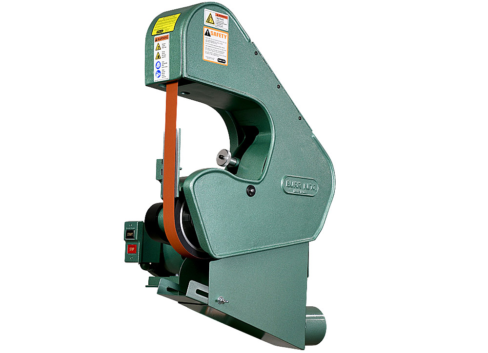 71200 belt grinder with DS-7 dust scoop