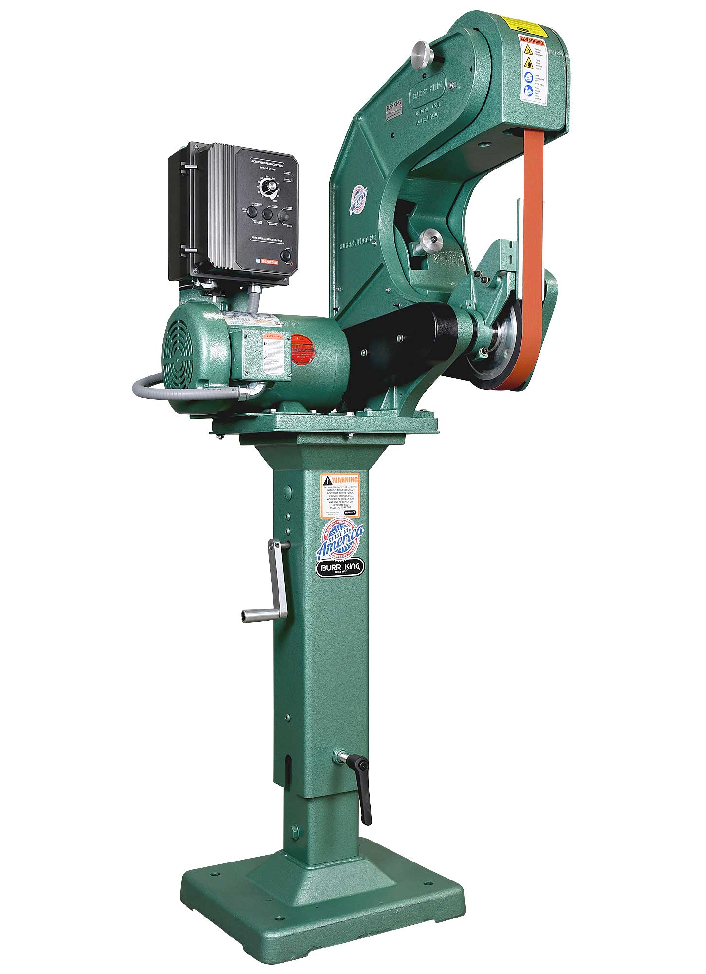 72110 shown with optional adjustable pedestal (01-10)