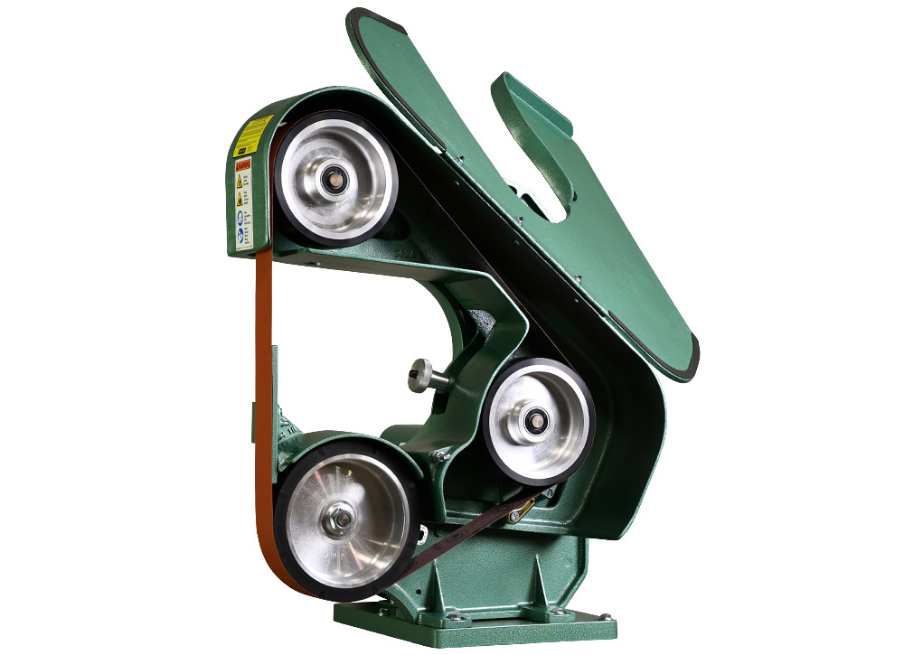 76100-760 belt grinder / sander open door