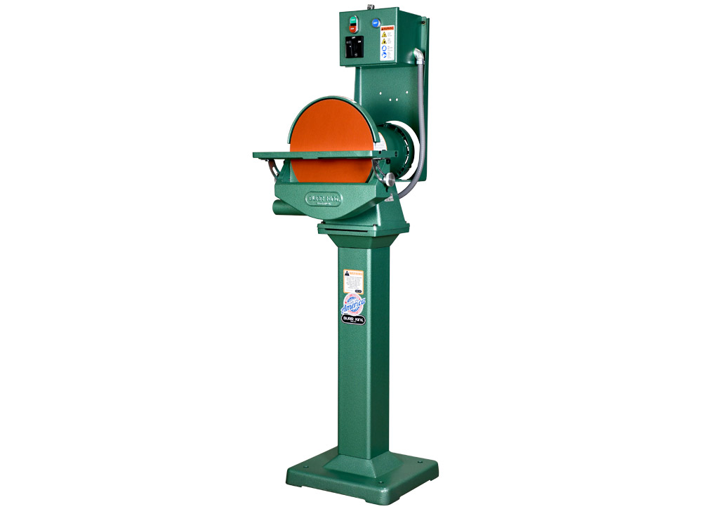 M12 Disc grinder / sander on Pedestal - 29403 shown on 02-7 pedestal