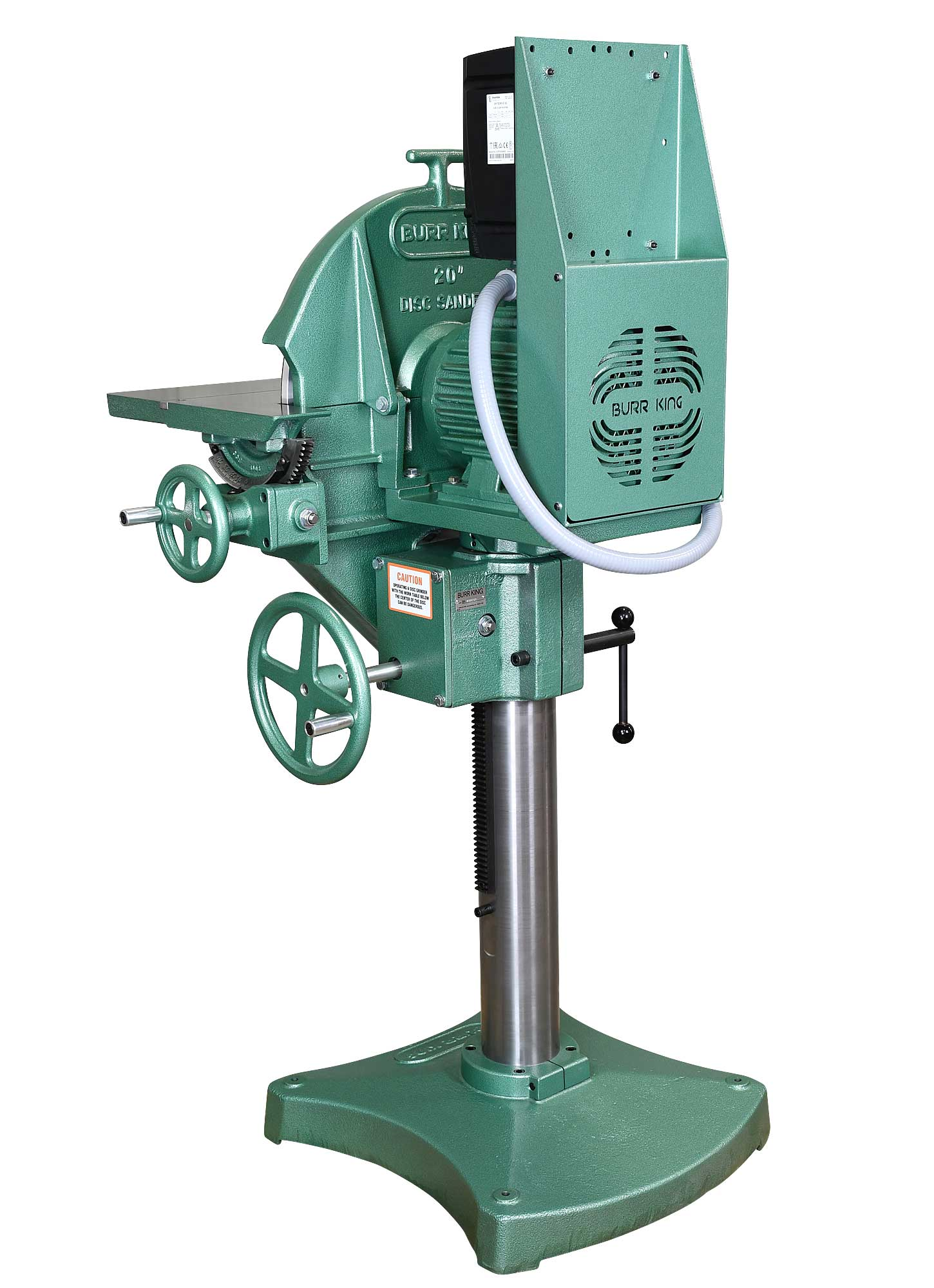 24103 - 20` Variable Speed Disc Grinder - Rear view