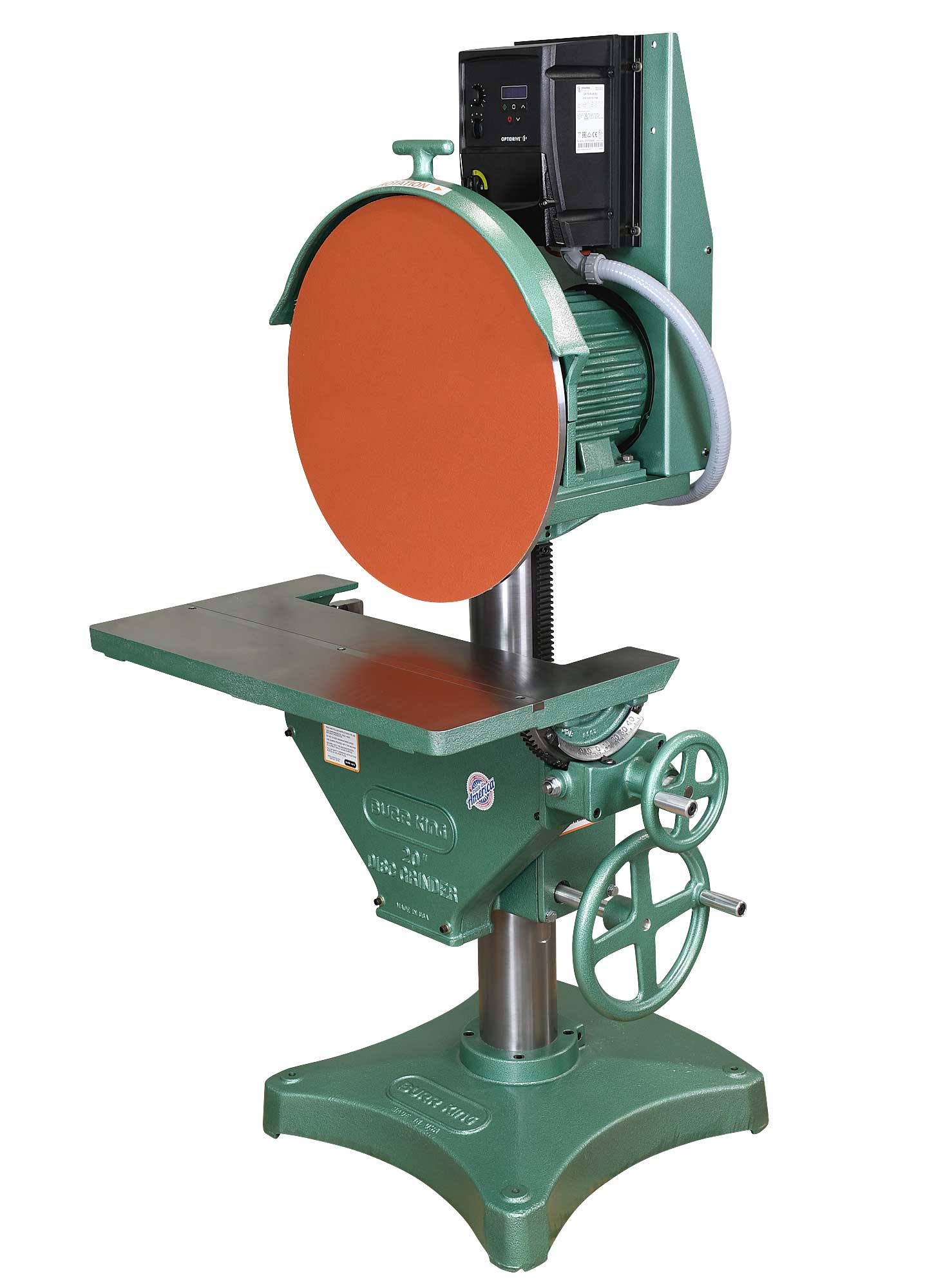 24103 - 20` Variable Speed Disc Grinder,  gear driven table