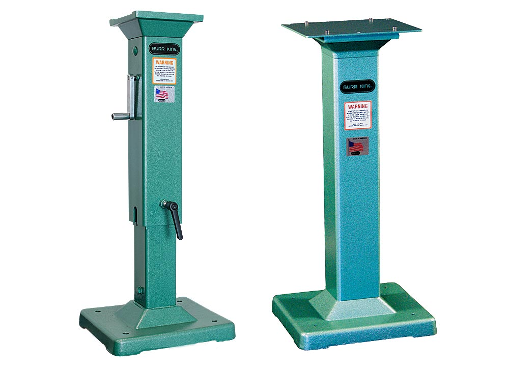 Adjustable and fixed height pedestals
