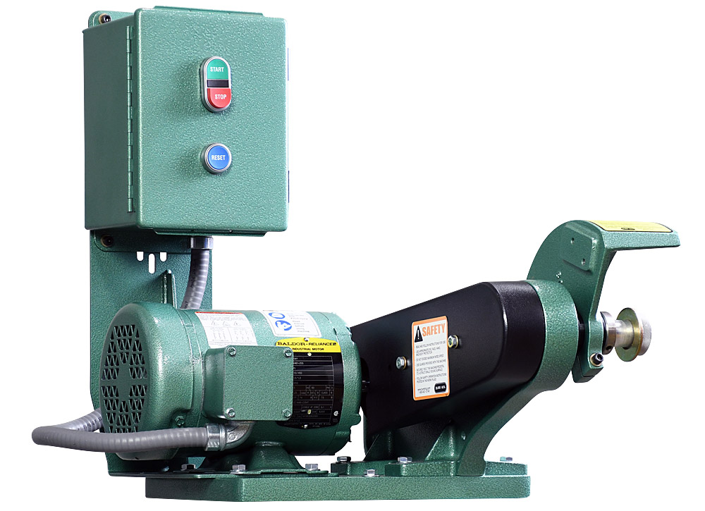 60403 model 600 polishing lathe / buffer / deburring machine with no wheel
