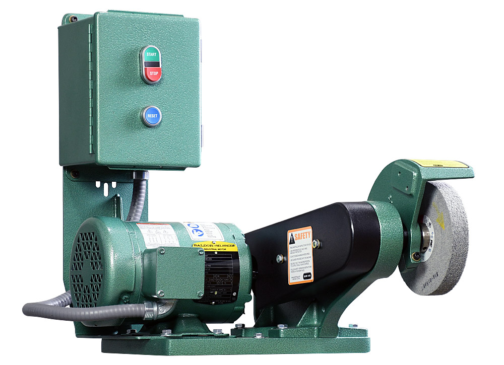 60403 model 600 polishing lathe / buffer / deburring machine