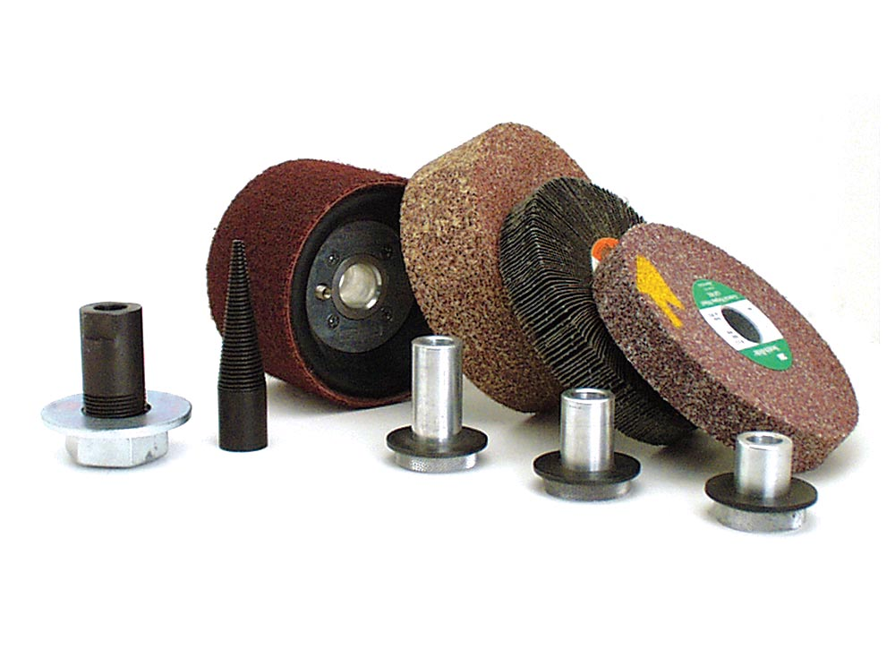 Wheel Adapters are also available in multiple arbor sizes.