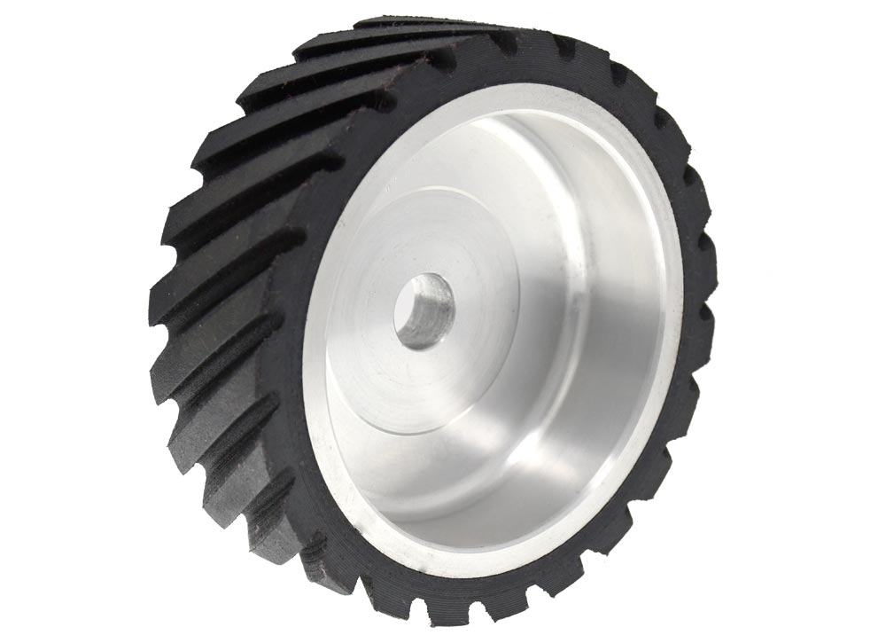 402-S-55 Serrated Contact Wheel