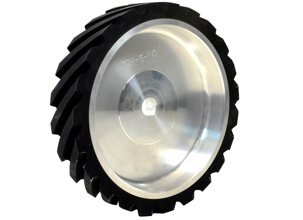 702-S-90 Serrated 90 Duro Contact Wheel