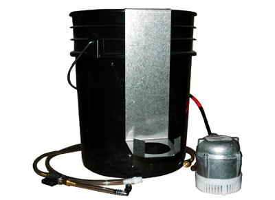 Choose Sump PAK 1000 (shown) or Filter PAK 4001B.