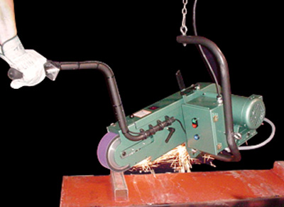 Model 979 adapts as a swing grinder.